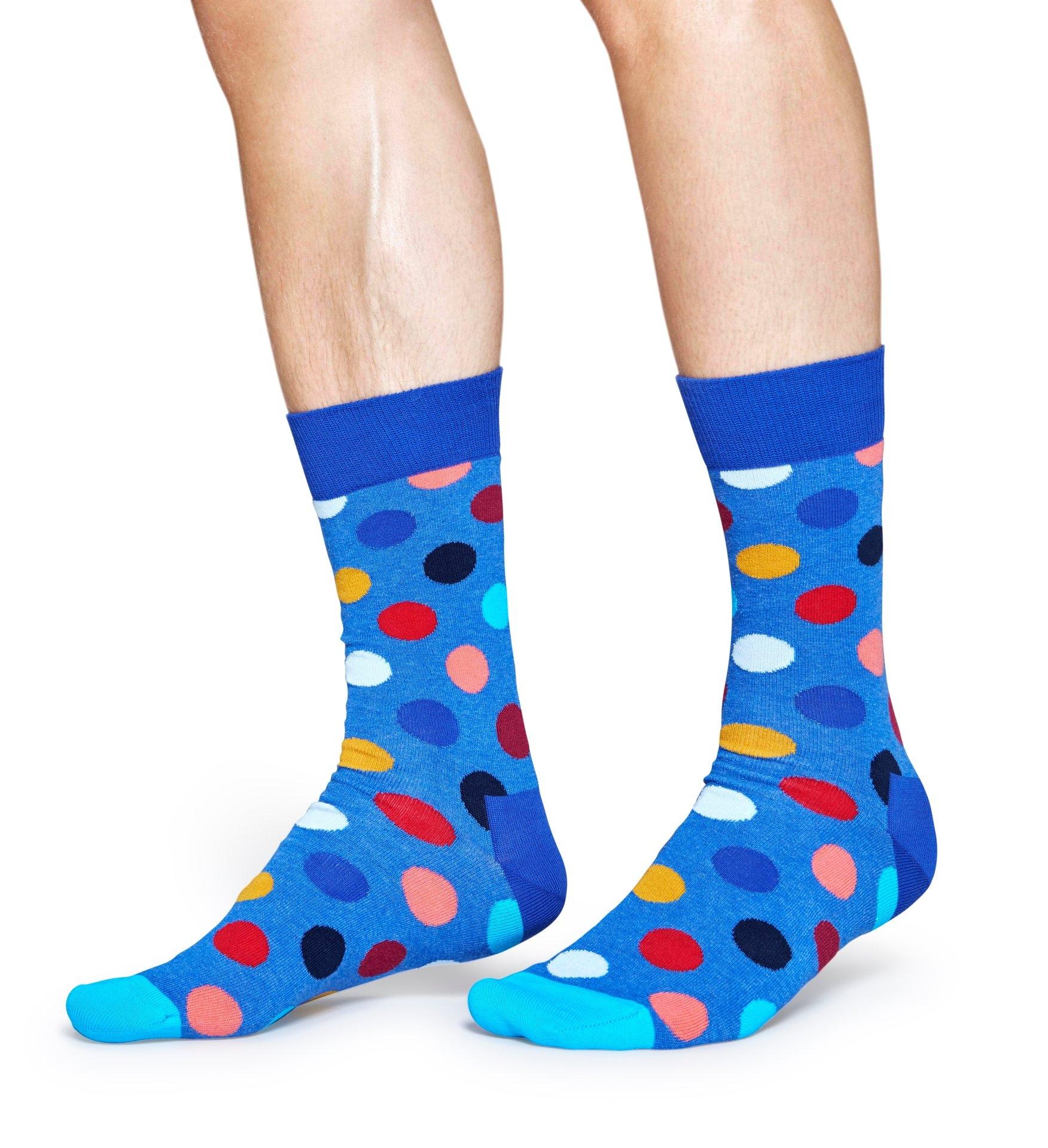 24a867fe6a9eac Skarpetki męskie Happy Socks śmieszne wzory 41-46 7527463374 - Allegro.pl