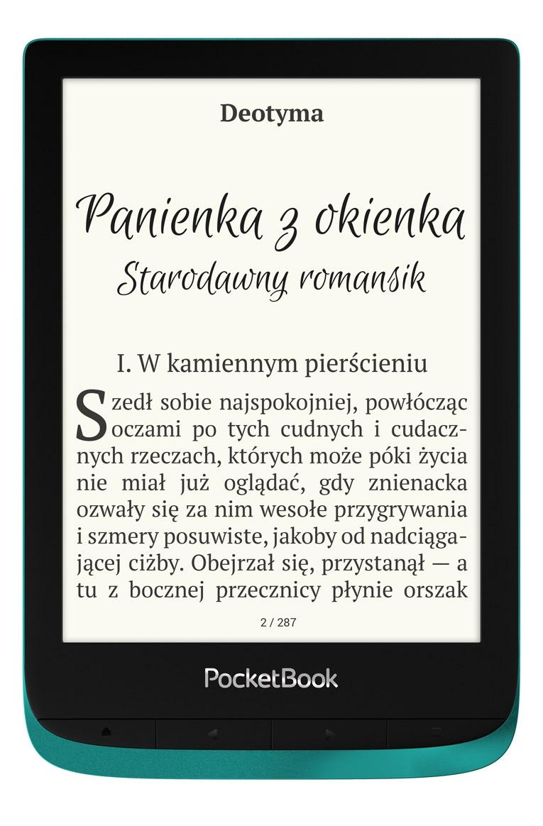 Czytnik e booków 6'' PocketBook Touch Lux 4