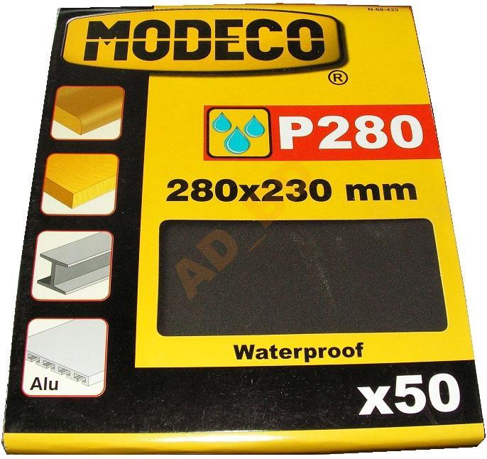 Brúsny papier na vodnej báze - P280 vodotesný x 50 ks