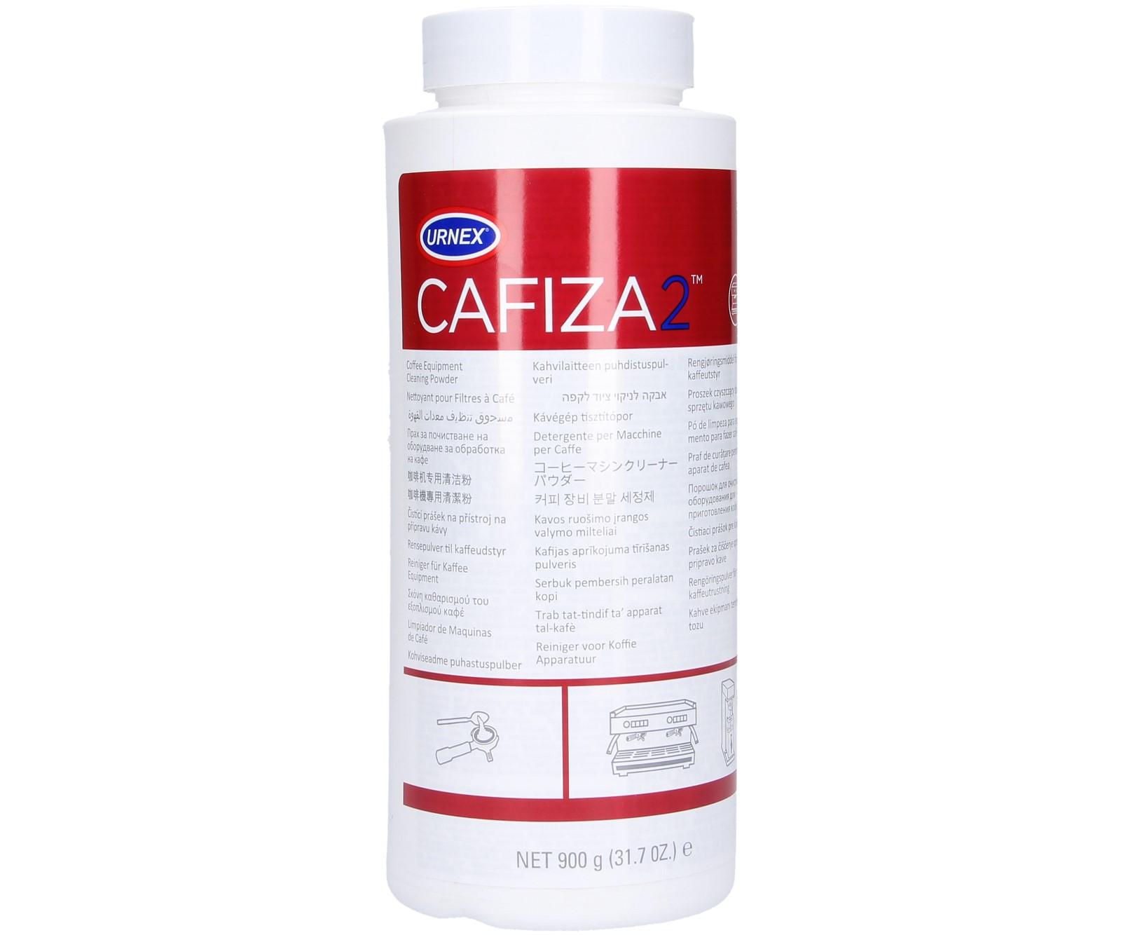 URNEX CAFIZA2 Порошок для очистки кофемашины 900g