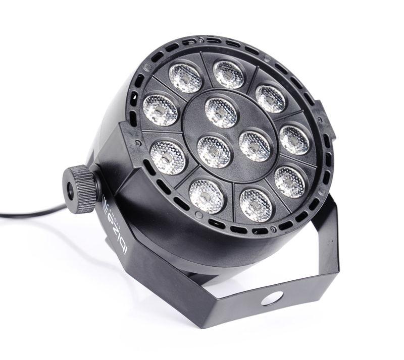 Ultrafiolet LED UV IBIZA DMX 512 12x2 GW. 3l