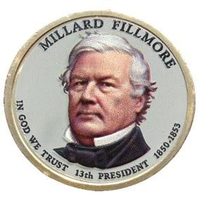 Millard Fillmore 2010 - obojstranná farba