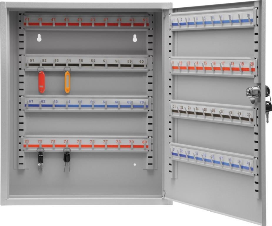 ящик на ключи 450 x 380 x 800 mm 80 крючки