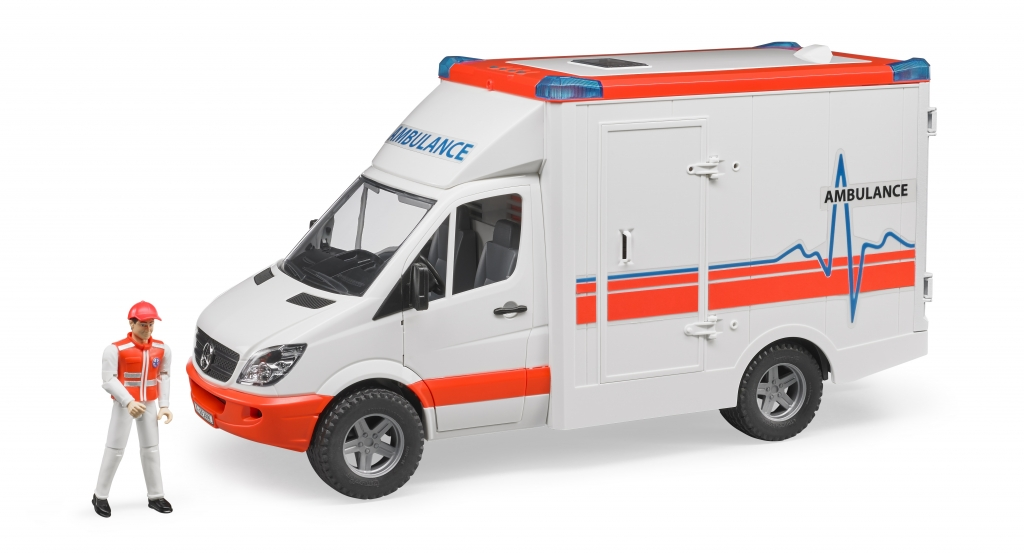 Bruder 02536 Mercedes Sprinter Ambulance - Sanitka