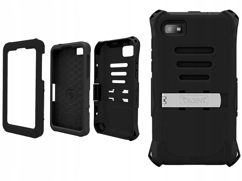 Pancerne czarne etui pokrowiec case Blackberry Z10