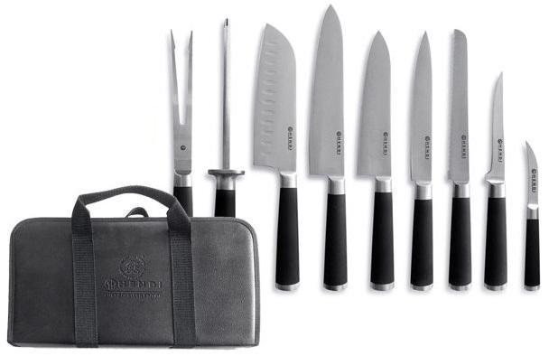 Hendi 975770 Nože sady s kuchárskym kufrom