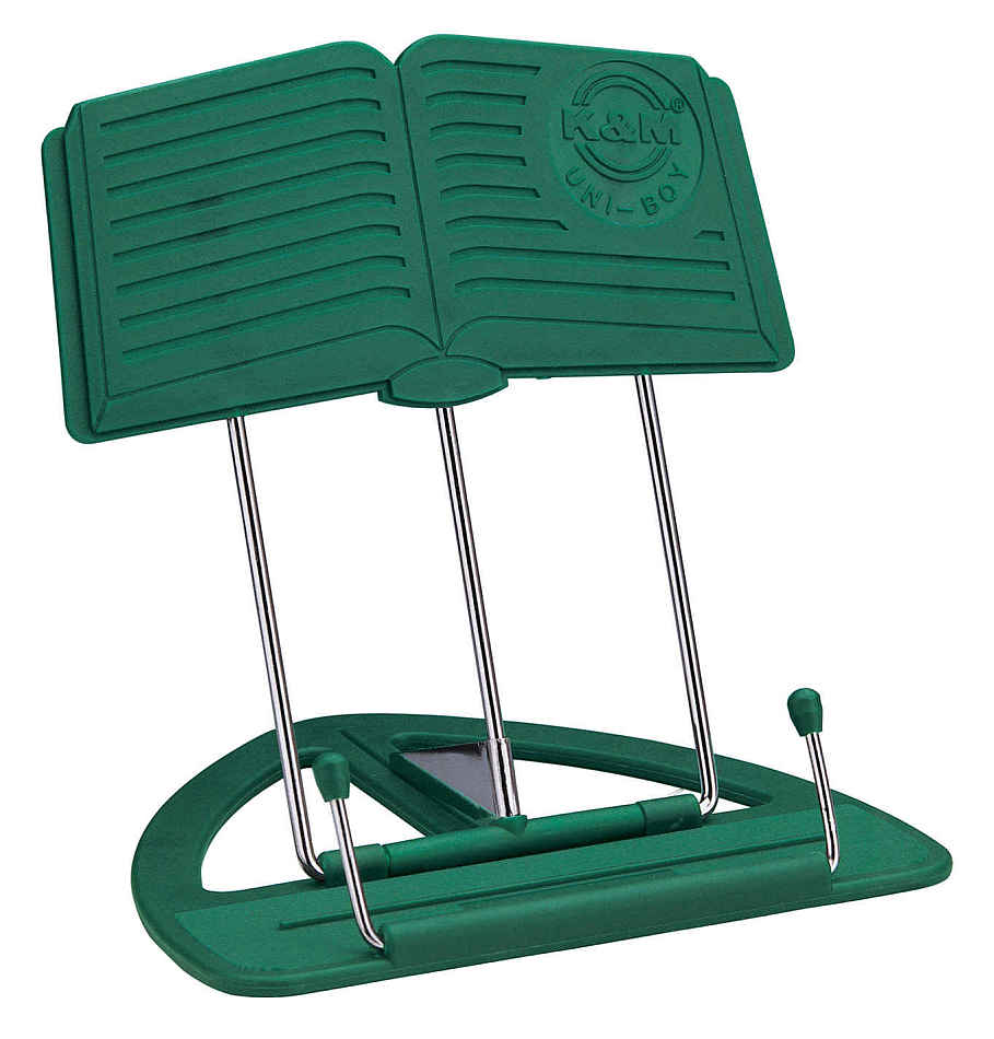 Item Stand for music or books K&M green