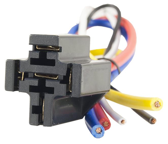 гнездо основа механизм z кабелем 12-24v диод