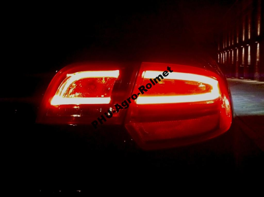 audi a3 lift fl sportback tylne lampy led