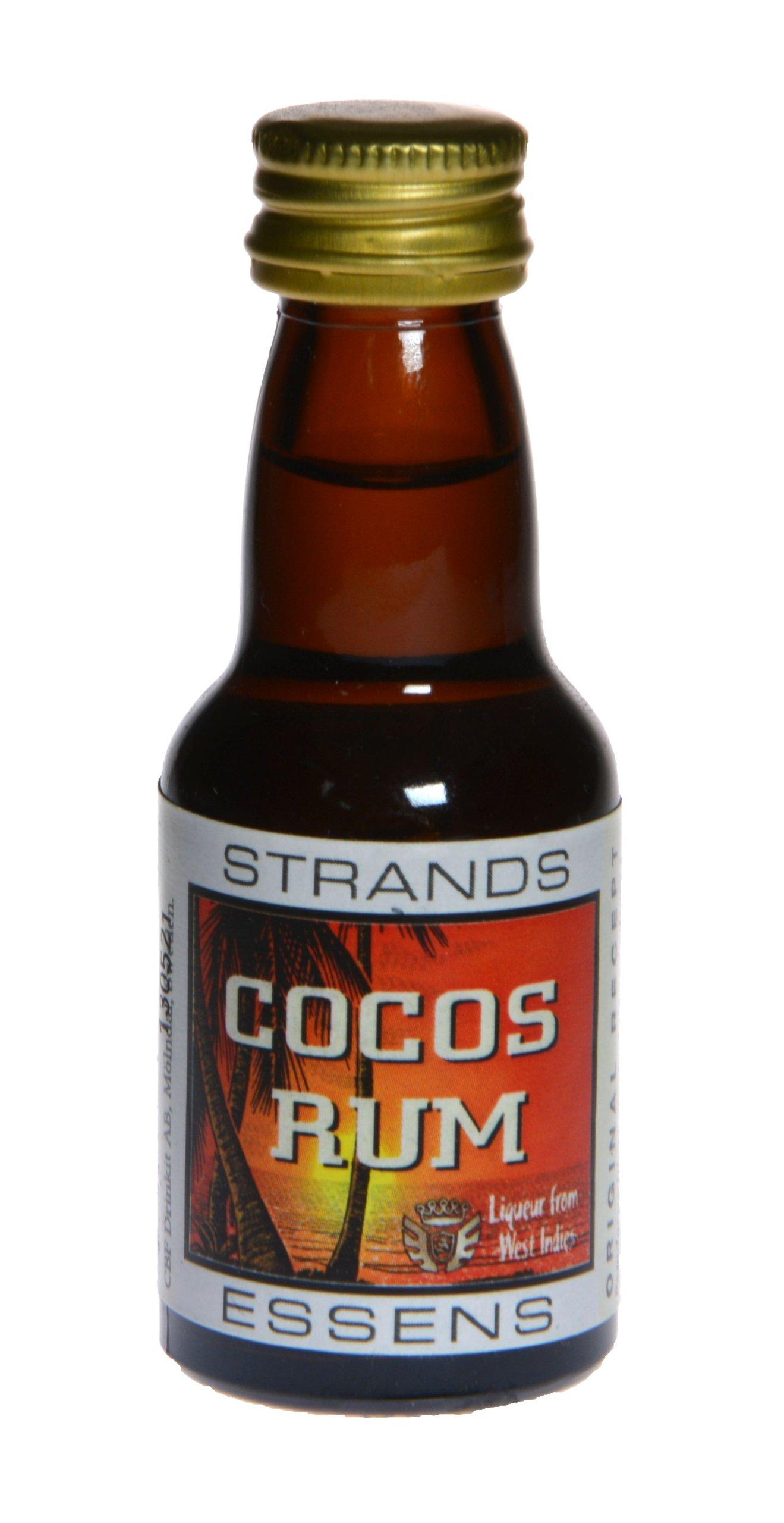 Zaprawka do alkoholu Strands COCOS RUM 25ml