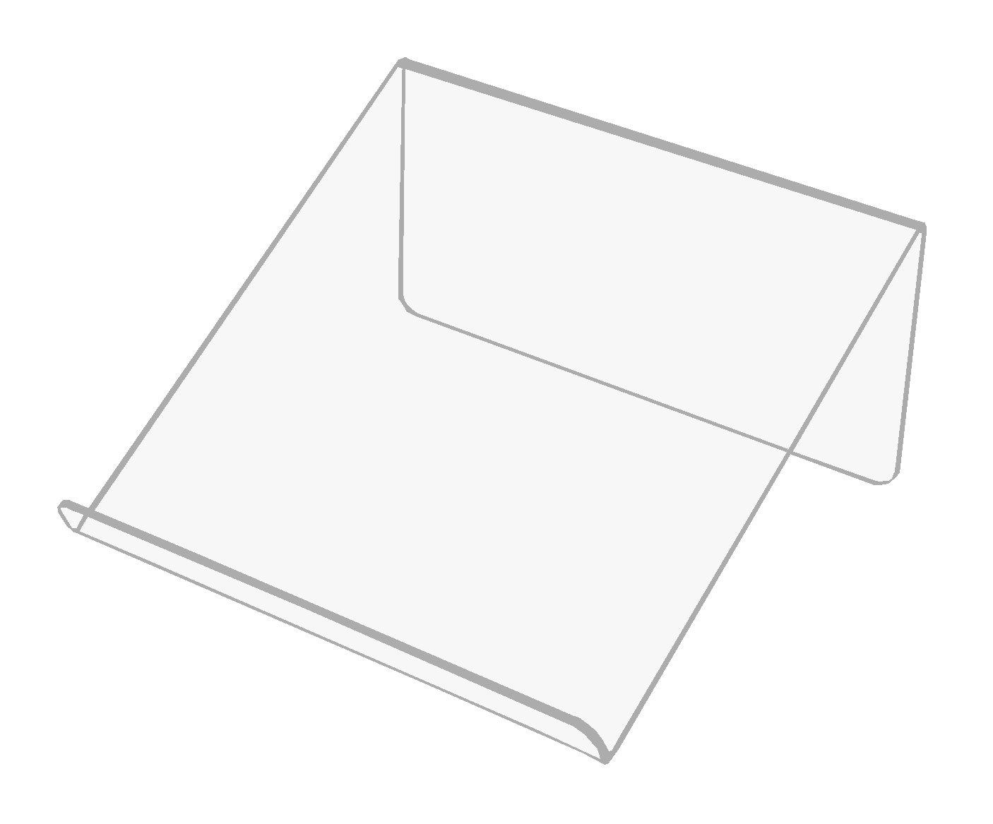 Stojan stojan 15 cm čítačka tabliet s plexiskla 3 mm
