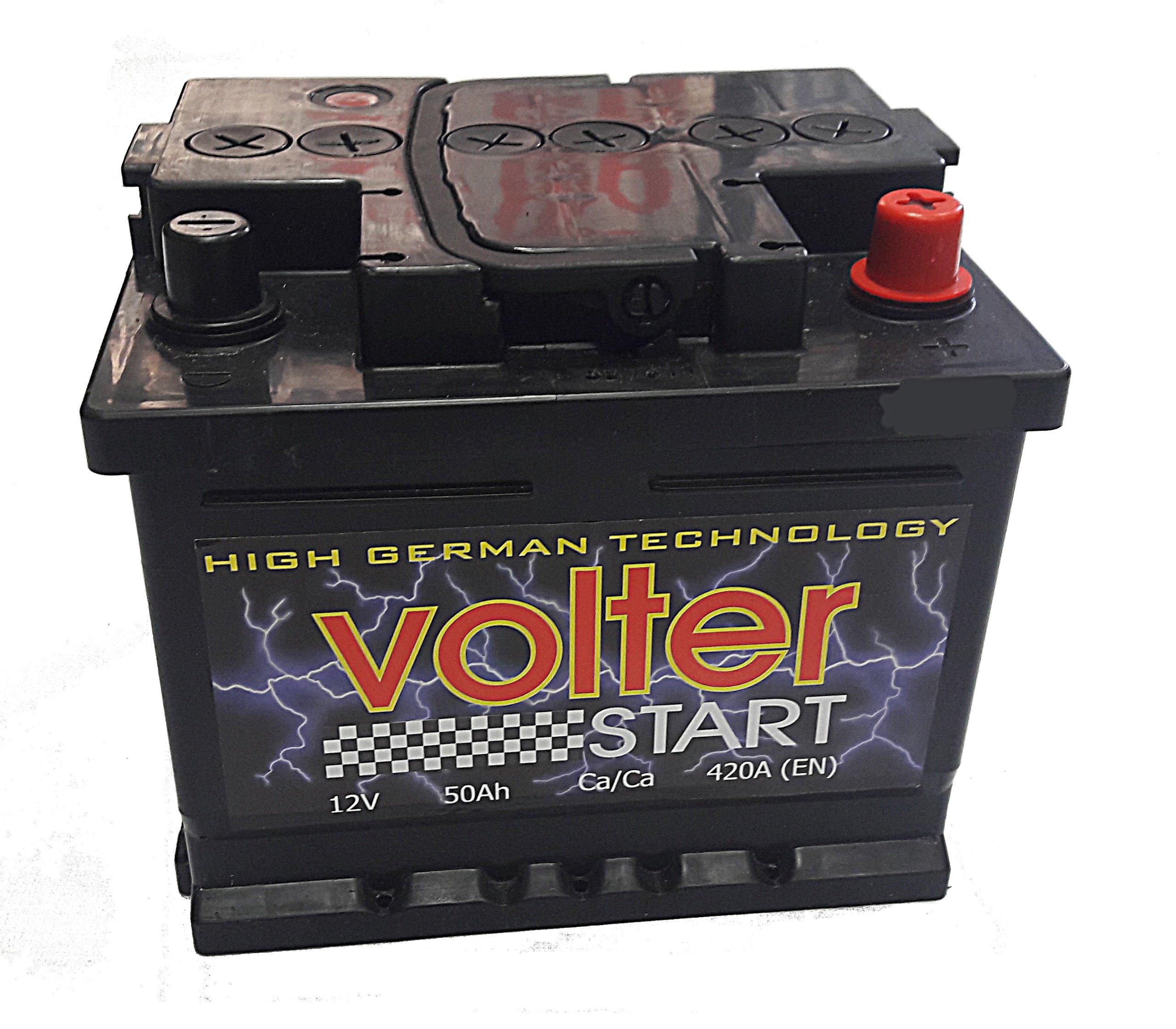 аккумулятор volter 45ah 390a