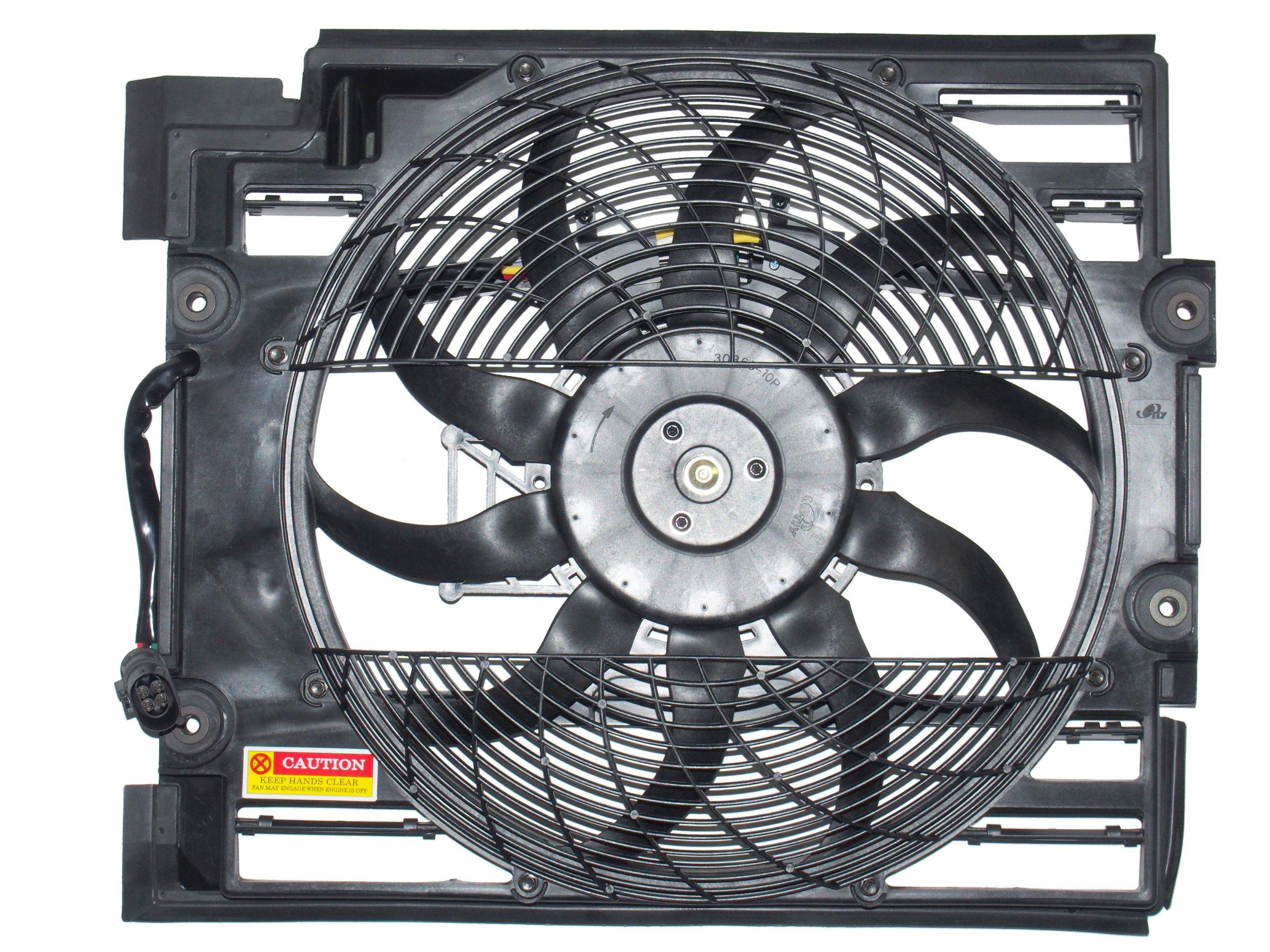 вентилятор кондиционирования воздуха радиатора к bmw e39 4 pin