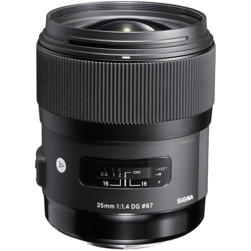 Item SIGMA 35mm f/1.4 DG HSM ART CANON - NEW!!! F. VAT