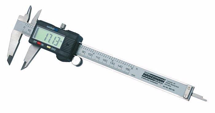 Mannesmann Elektronický strmeň 0-150 mm