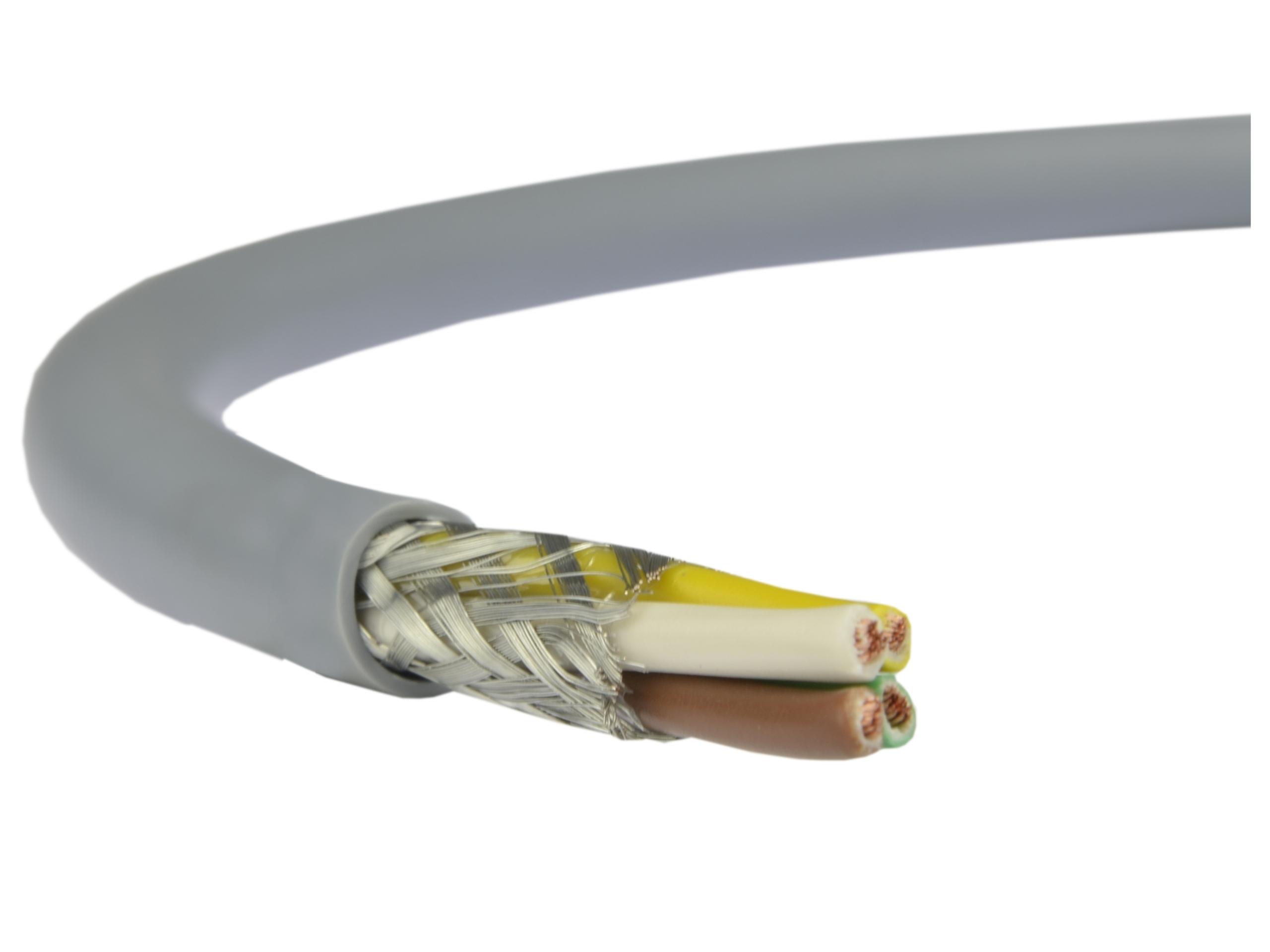 Káblový kábel v lokalite Liecy 4x0,75