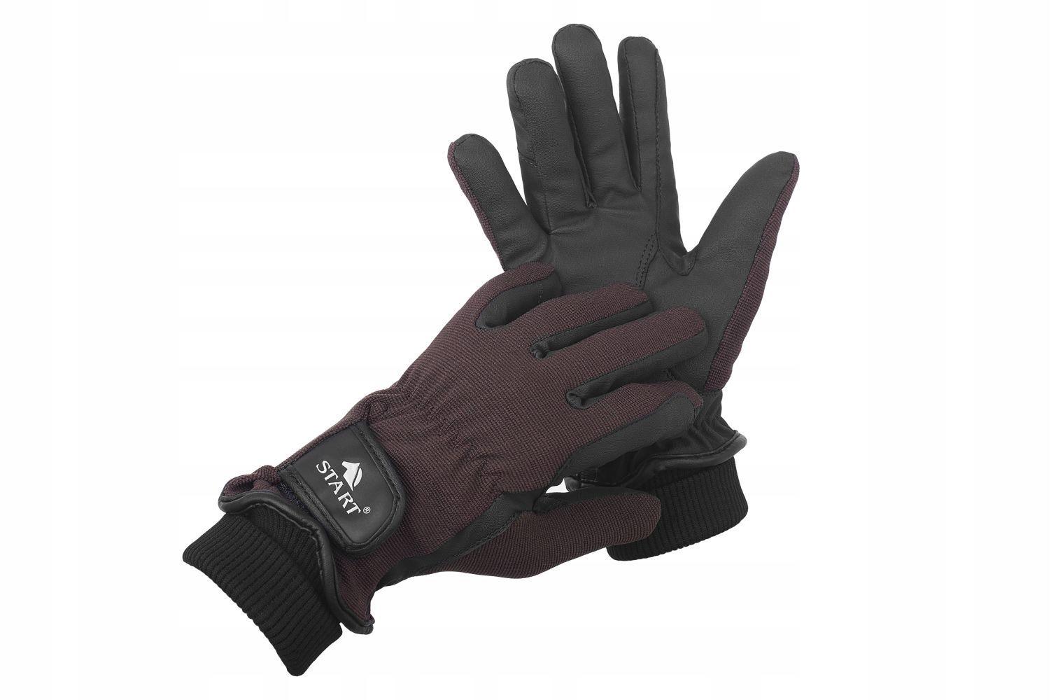 Zimné rukavice Začiatok Foundland Grip - Browns XS