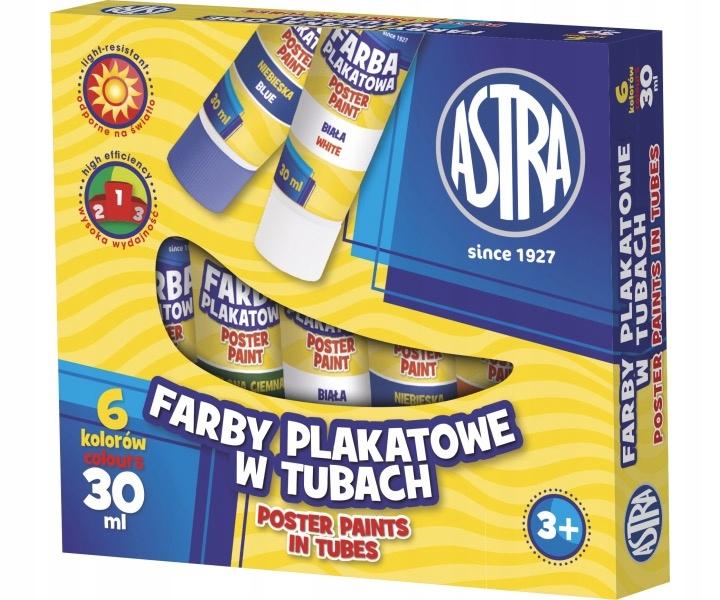 Купить Astra краски: в пробке 30 мл 6 цветов на Otpravka - цены и фото - доставка из Польши и стран Европы в Украину.