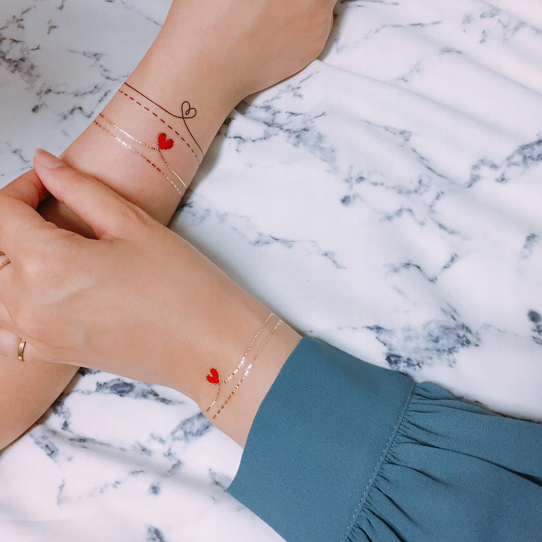Tatuaż Damski Dla Dziewczynki Need Love Paperself