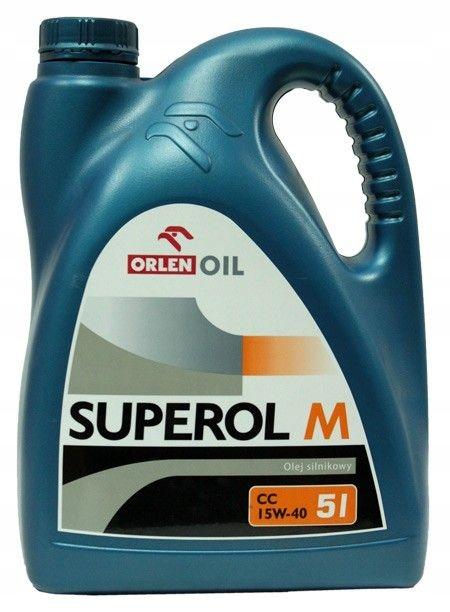 Superol M CC SAE 15W / 40 5L (MILLVAUS) ORLEN
