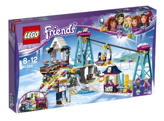 LEGO 41324 Priatelia - Lyžiarsky vlek v stredisku