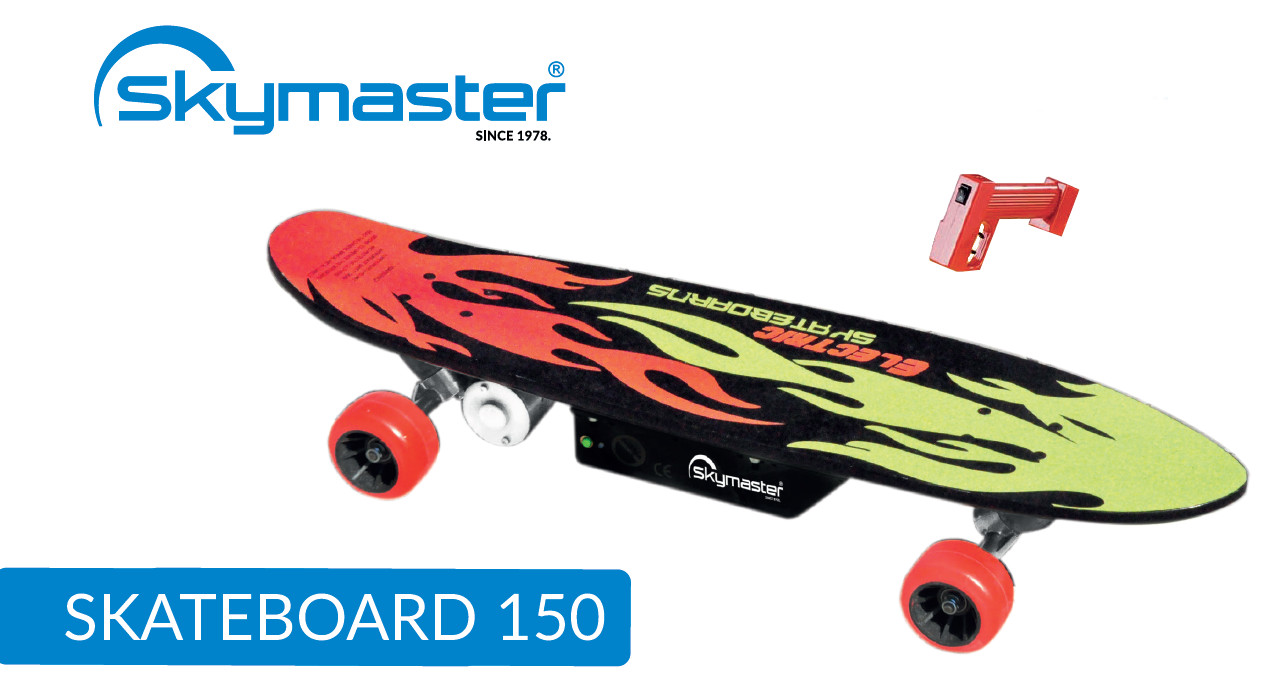 Elektrický skateboard Skymaster 150