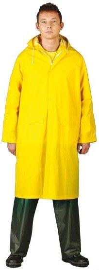Płaszcz przeciwdeszczowy z kapturem roz XXL