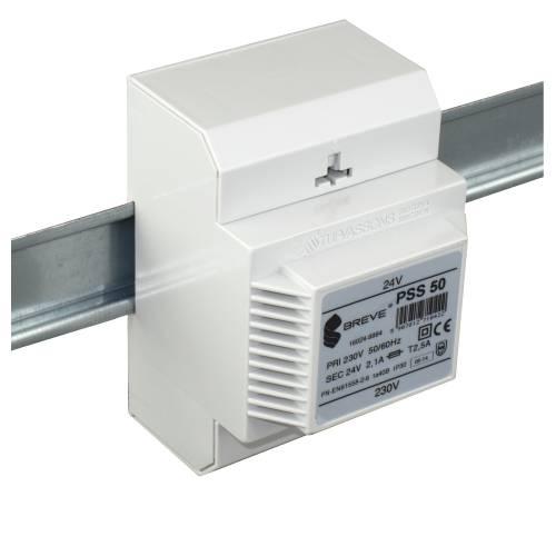 PSS 50 - 230 / 24VAC Transformátor pre DIN lištu