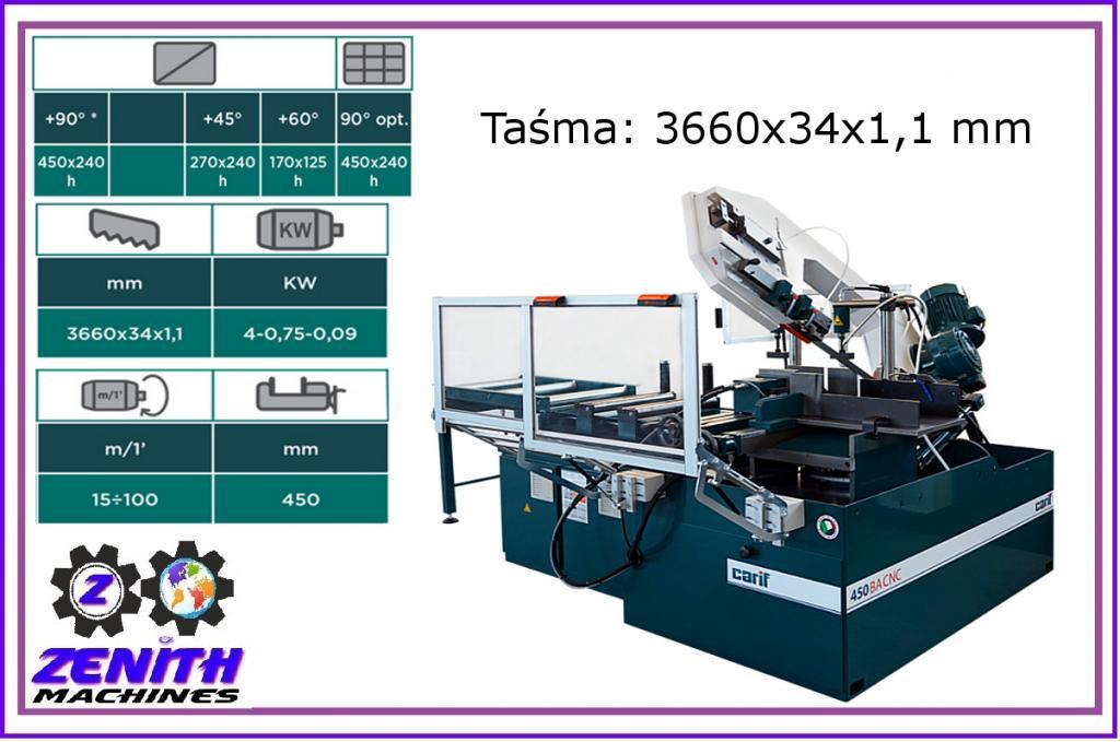 CARIF 450 BA CNC ZENITH páska