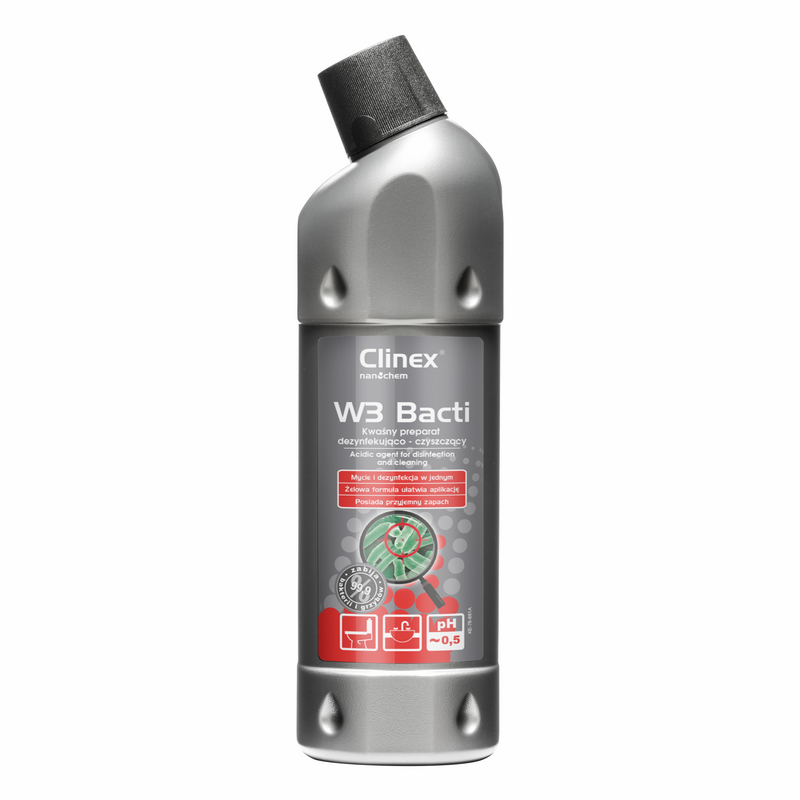 CLINEX W3 BACTI - Мытье и Дезинфекция Ванных комнат 1Л
