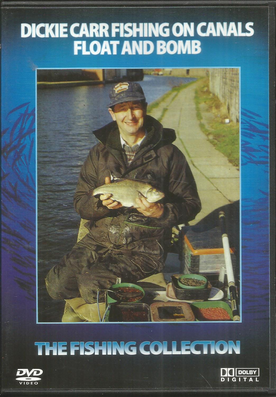 Dickie Carr Rybolov na kanáloch plavák a bomba - DVD