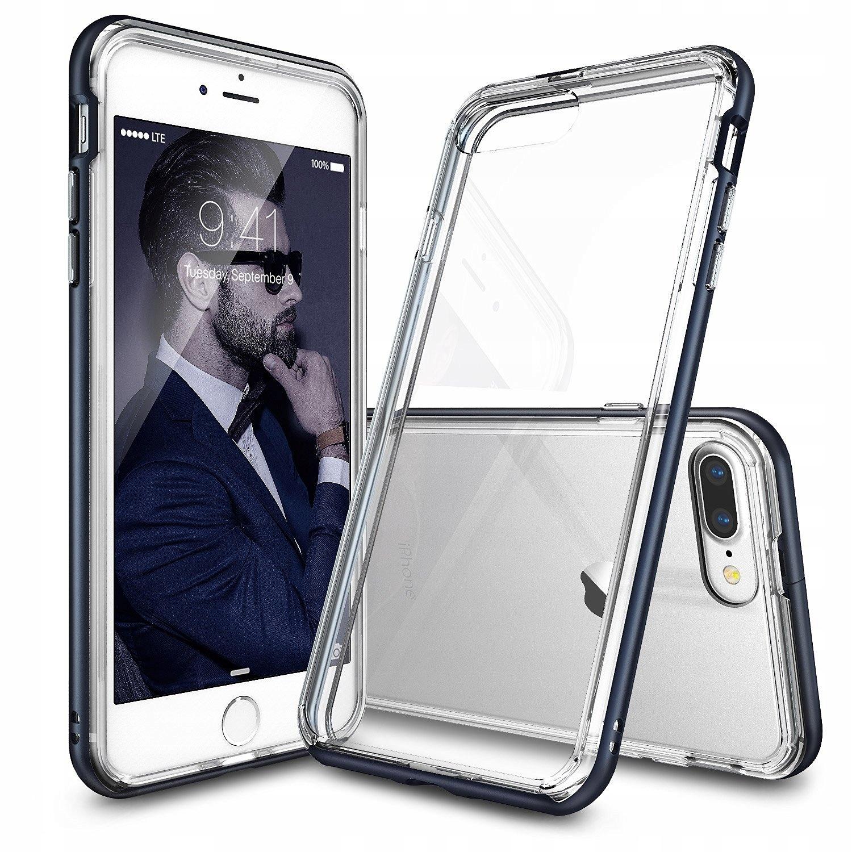 Etui Ringke Fusion Frame Iphone 7 Plus 5.5 + Folia