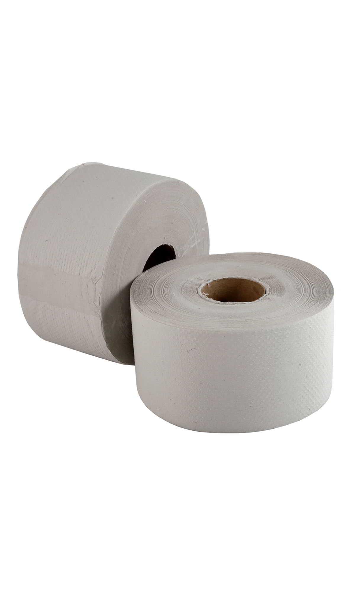 Туалетная бумага в лоток Jumbo 18 см серый