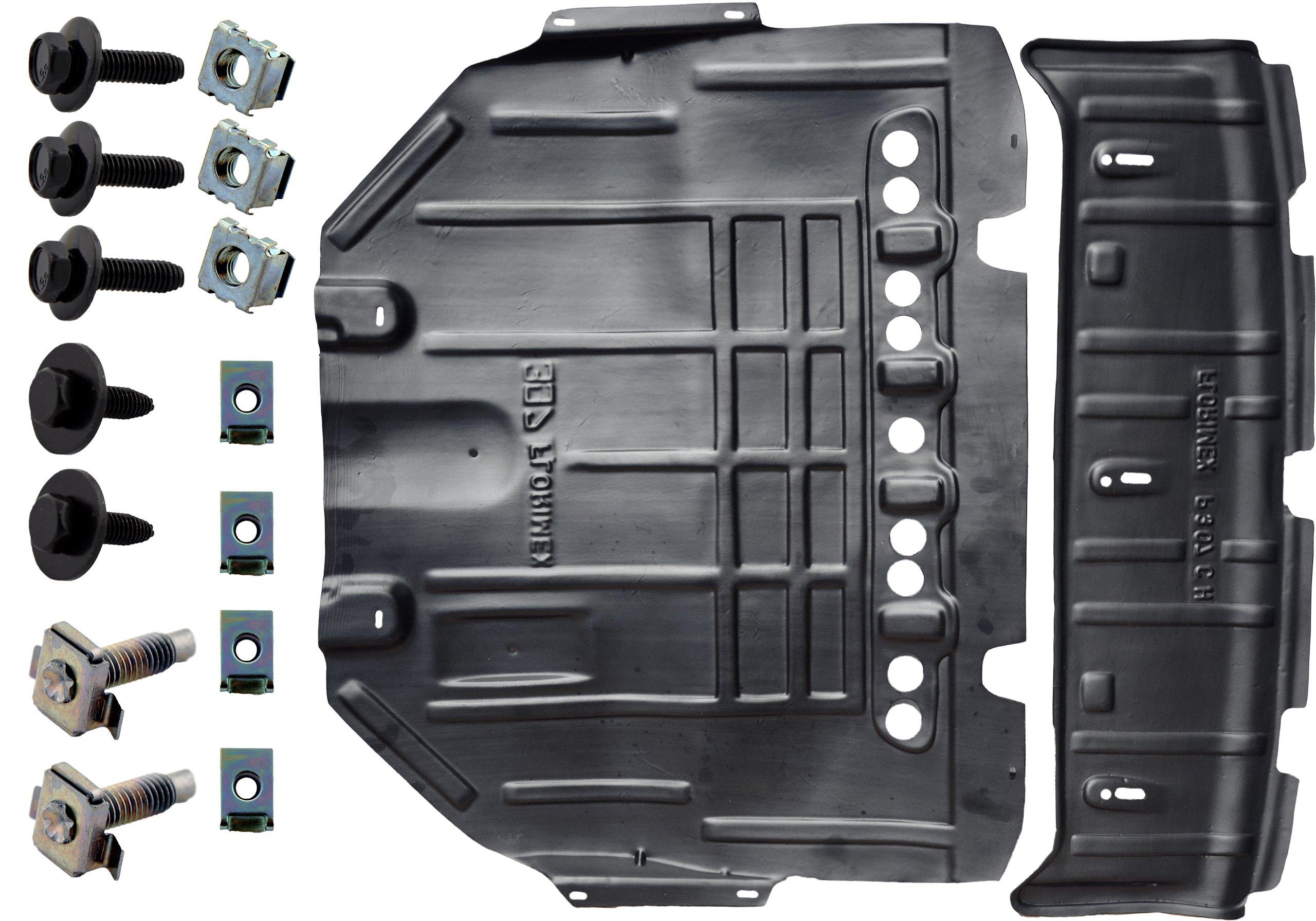 peugeot 307 2004-2011 крышка двигателя запонки hdpe