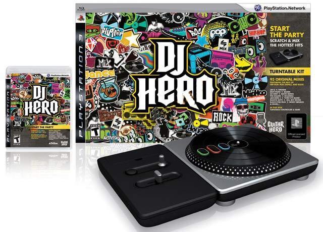 Propagácia New DJ Hero Playstation 3 PS3 GW FV