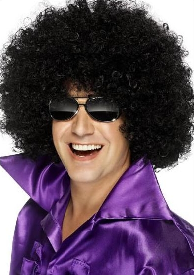 AFRO WIG BLACK CURLY WIGS CARNIVAL