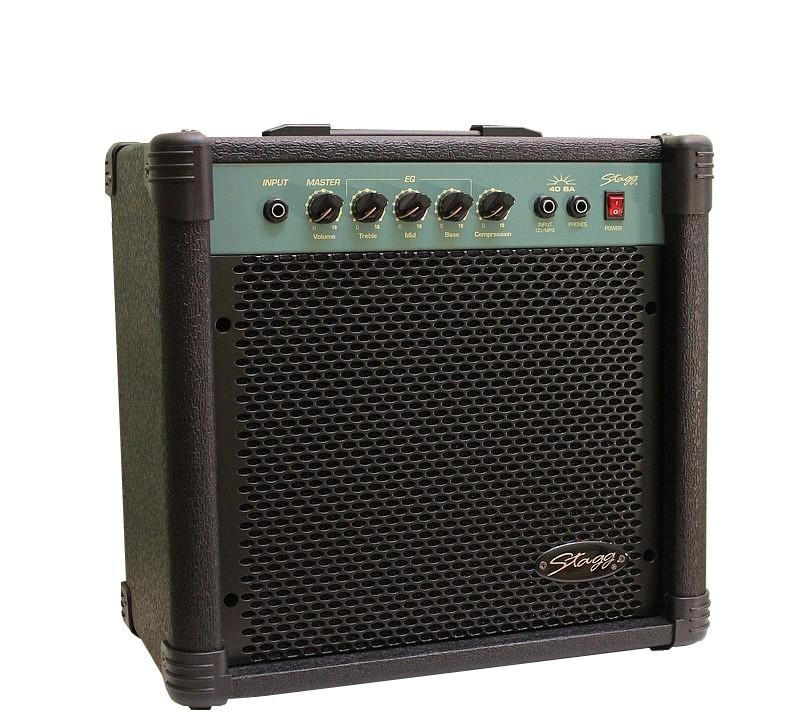 = 80W = Sporák Combo Basd Bass Bass Amplifier