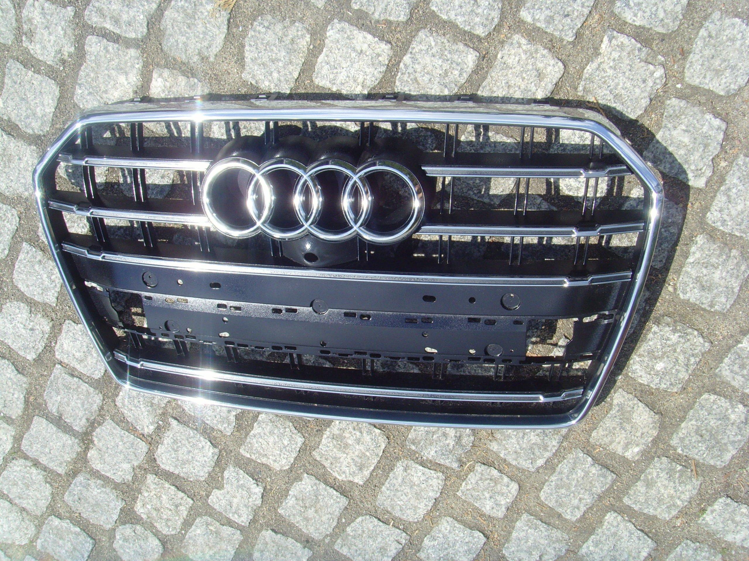 Audi A6 C7 S6 4g Facelift Grill Grill Black S Line Xdalys Lt