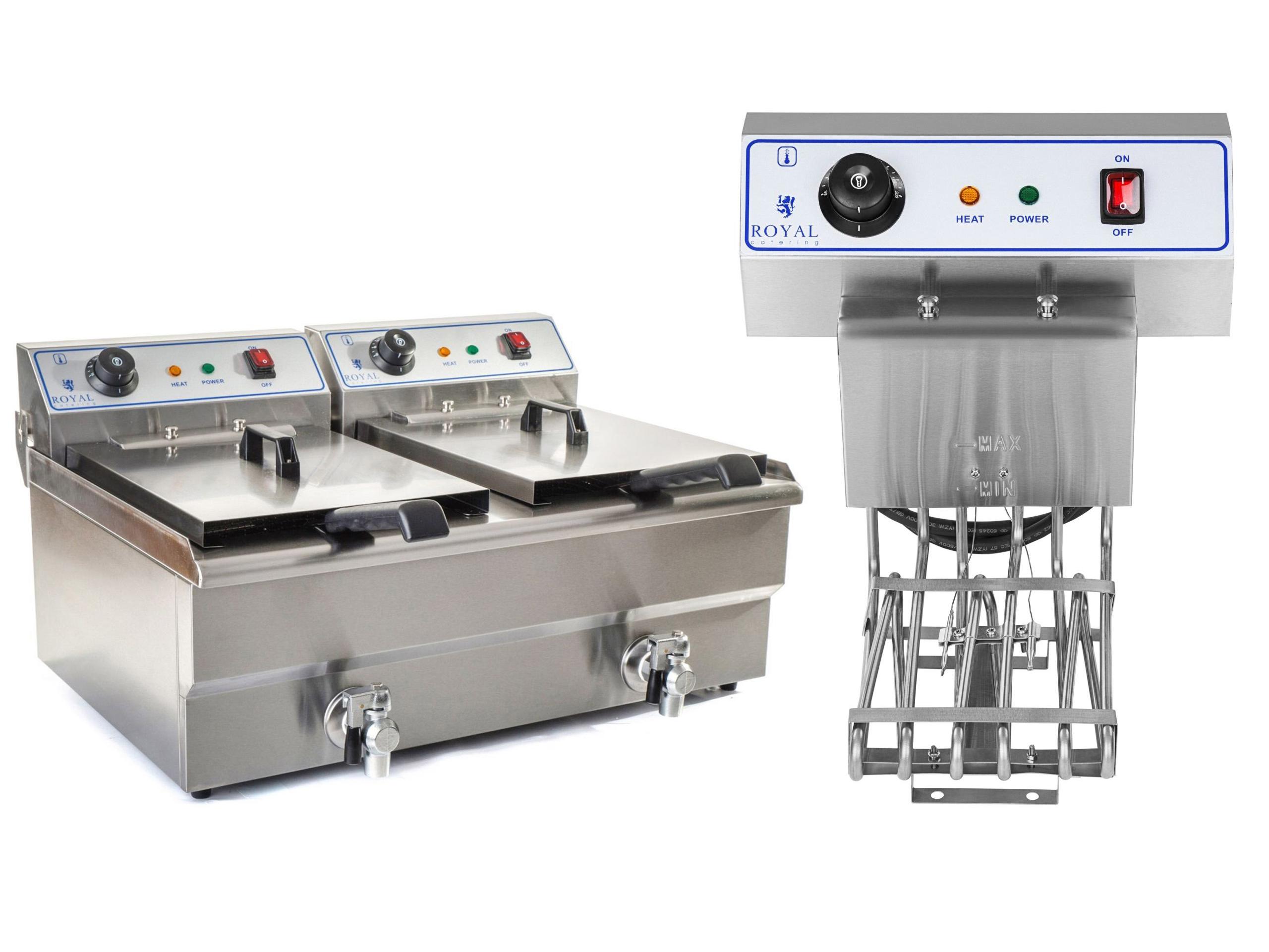Double Deep Fryer, Fryer, studená zóna, FV