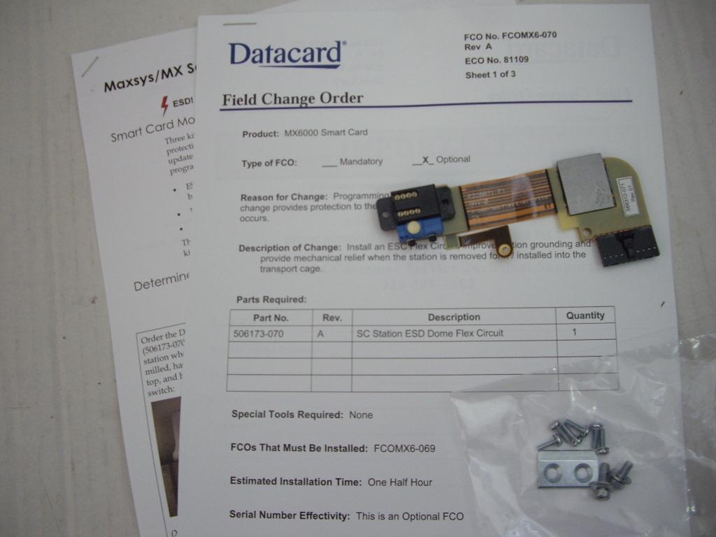 Nový modul pre Smart Card DataCard MX6000 FCO