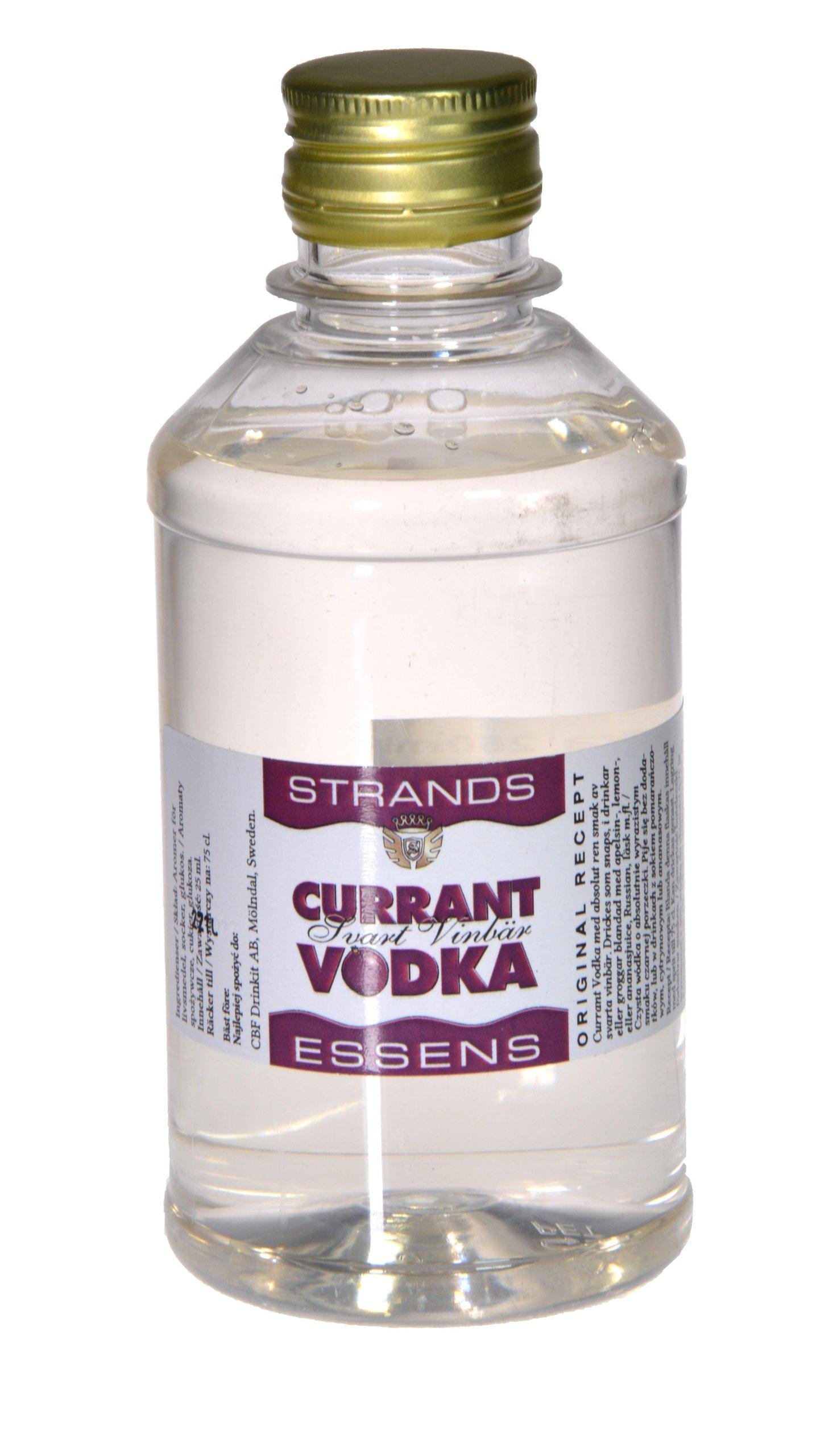 Zaprawka do alkoholu STRANDS CZARNA PORZECZKA 250m