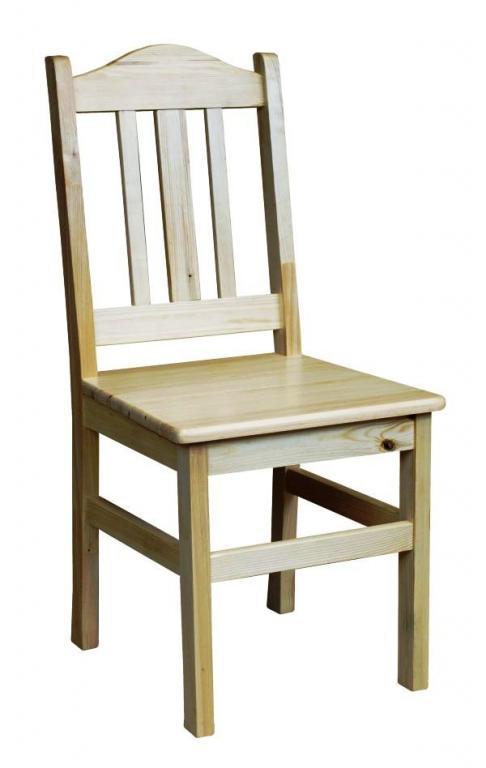 Veľká robustná stolička Drevené nátriče