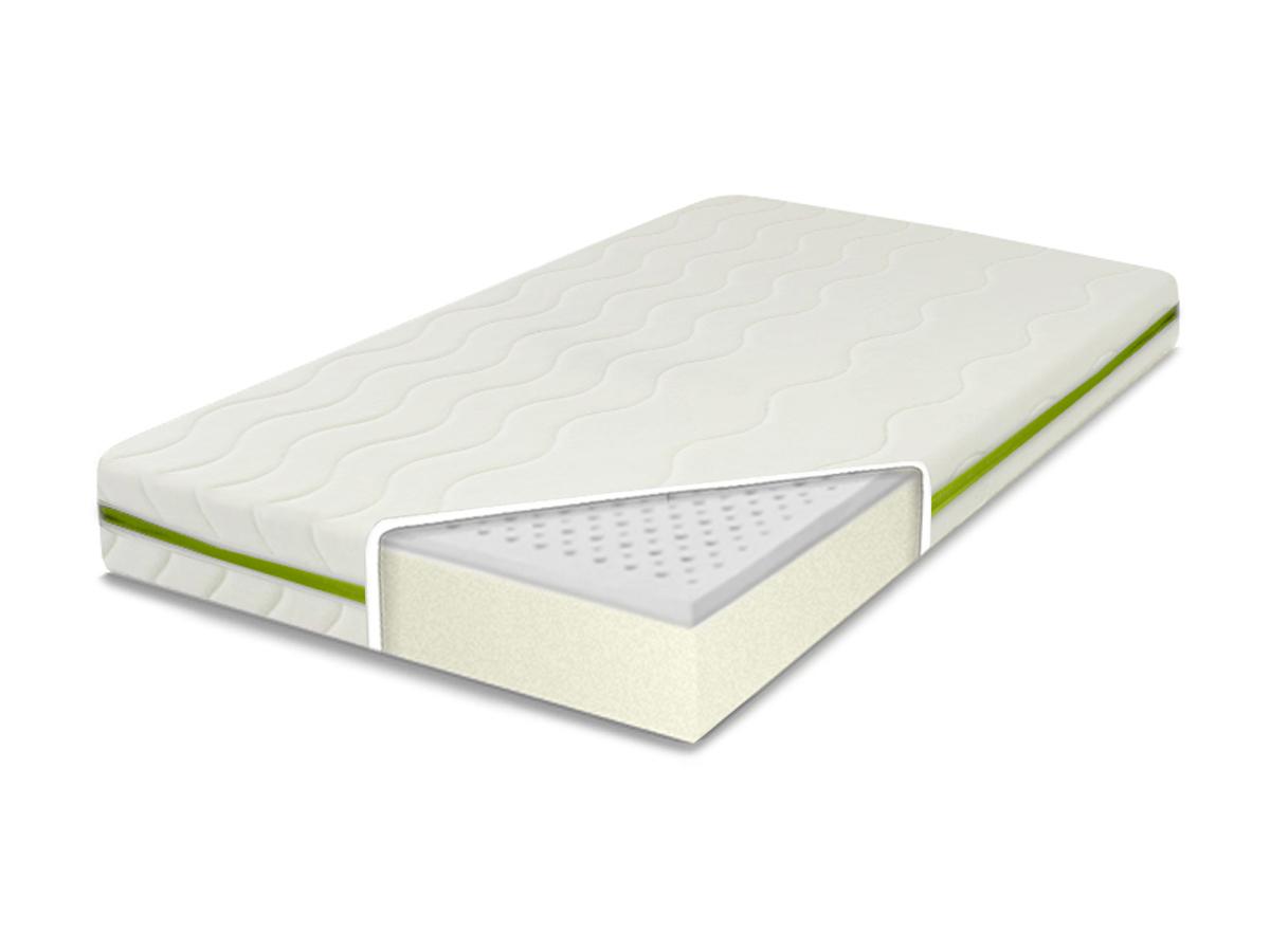 MATERAC LATEKSOWY do łóżeczka 140X70X10 kolory