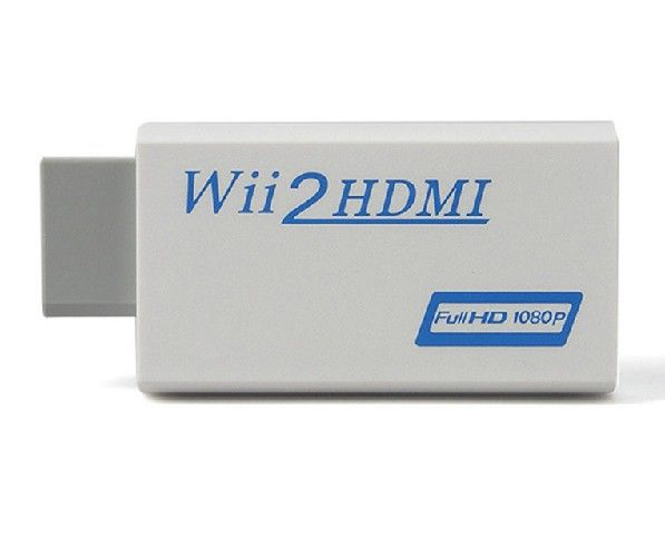 Item Adapter Wii to HDMI Wii2HDMI connect your Wii to HDMI