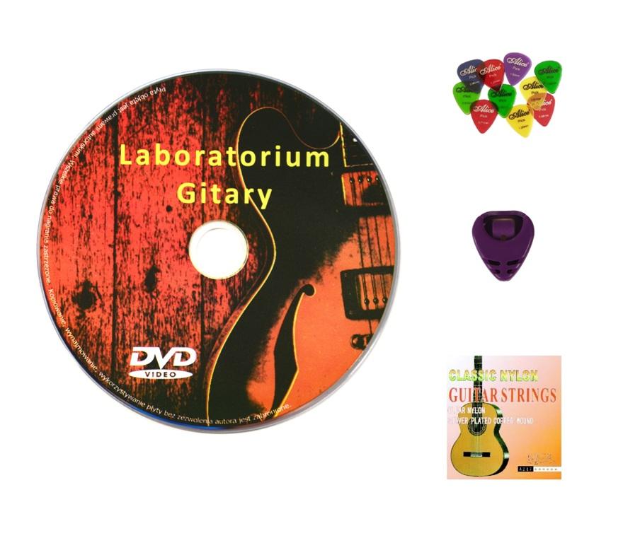 DVD Guitar Course - Learning Guitar Games + darček