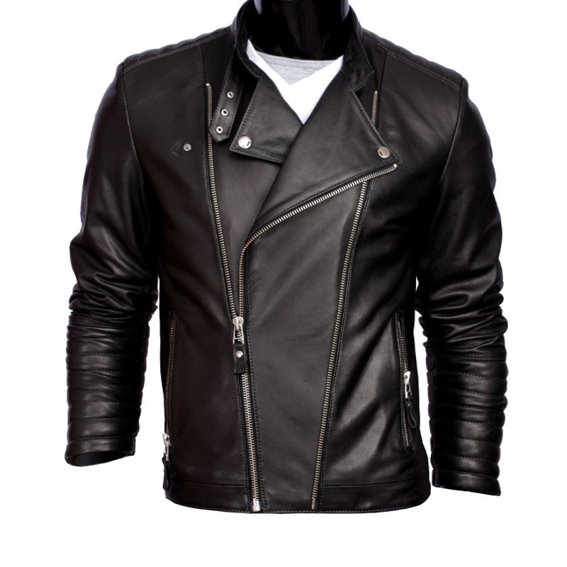 Купить Мужская кожаная куртка Ramones DORJAN LEO950 L на Otpravka - цены и фото - доставка из Польши и стран Европы в Украину.