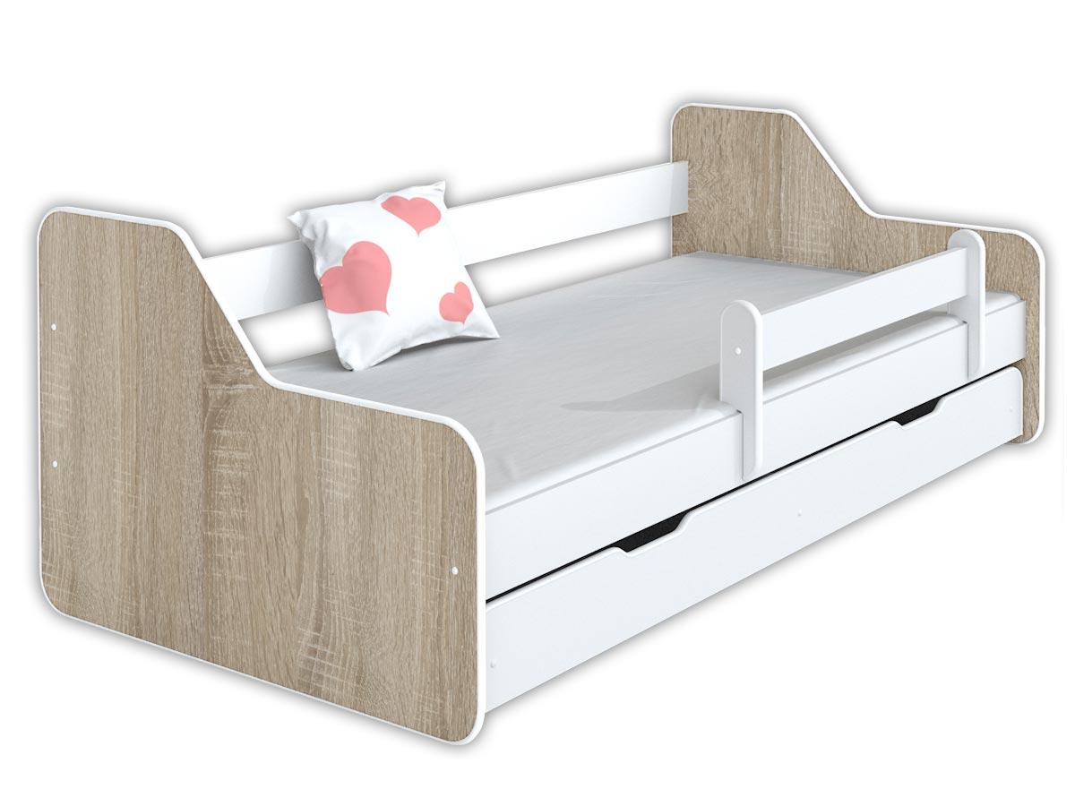 Купить Кровать ДИОНА II 160x80 +ящик +матрас +перила на Otpravka - цены и фото - доставка из Польши и стран Европы в Украину.