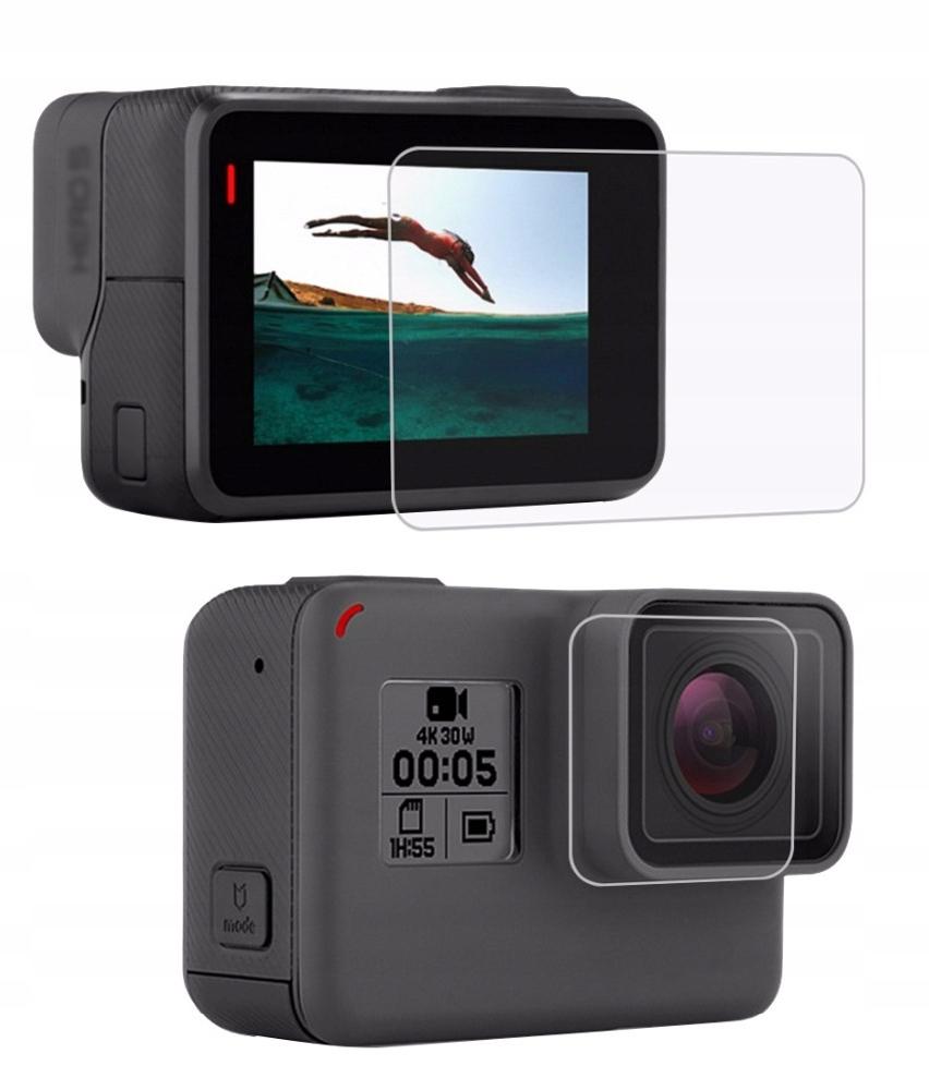Osłona na Obiektyw i Ekran LCD GoPro Hero 6 Hero 5