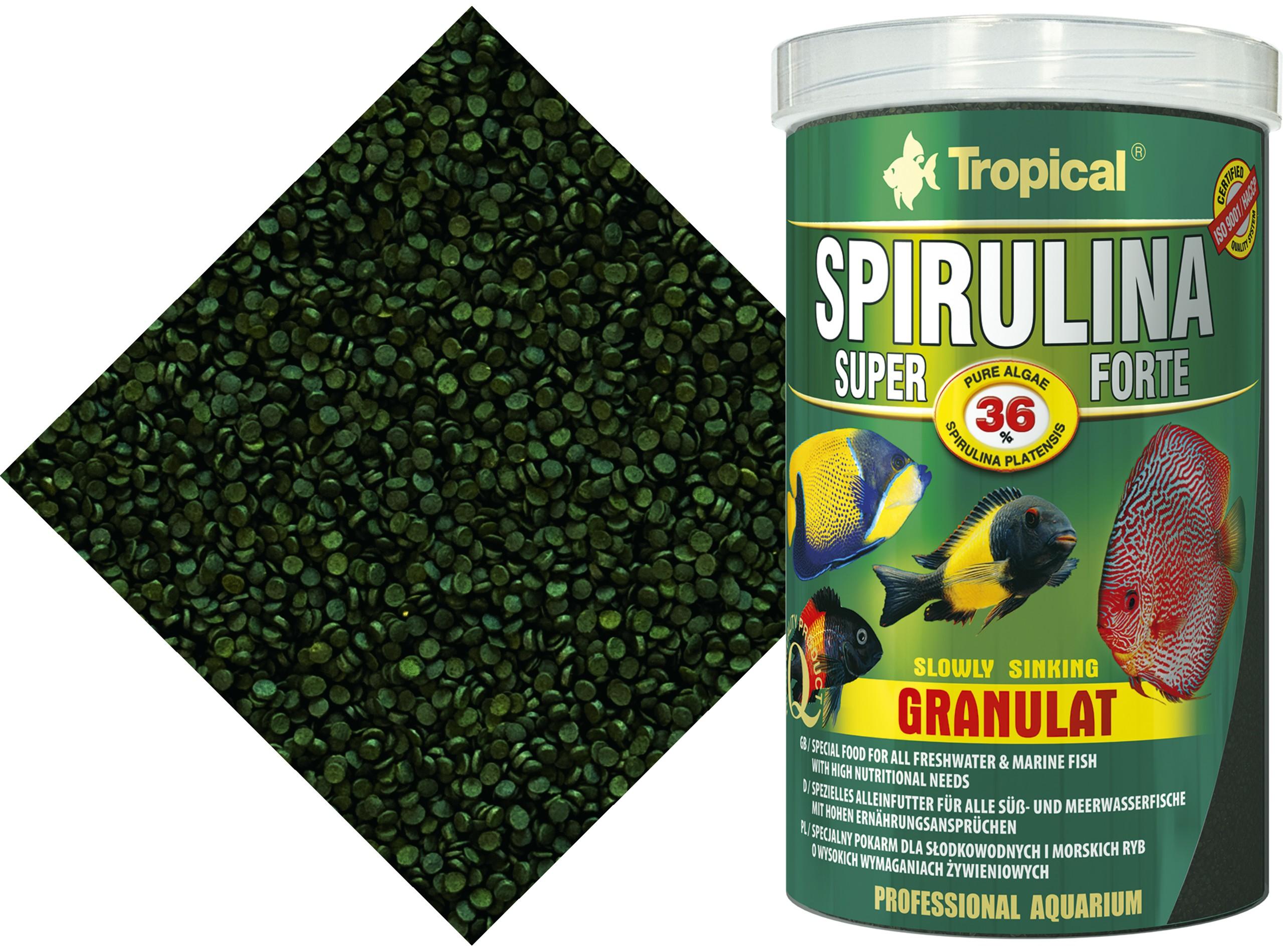 TROPICAL SPIRULINA SUPER FORTE 36% GRAND 400gr/1000