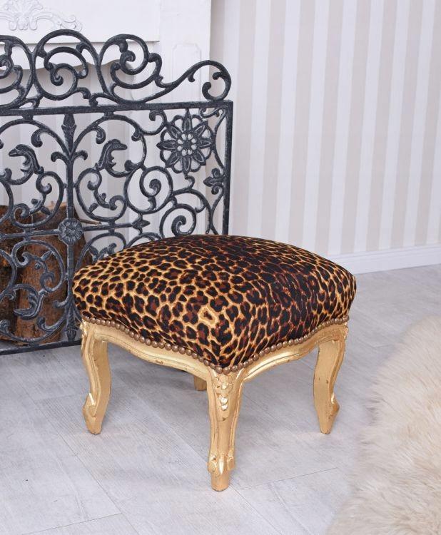 Panterka stolice sídlo stolice retro ošumelé